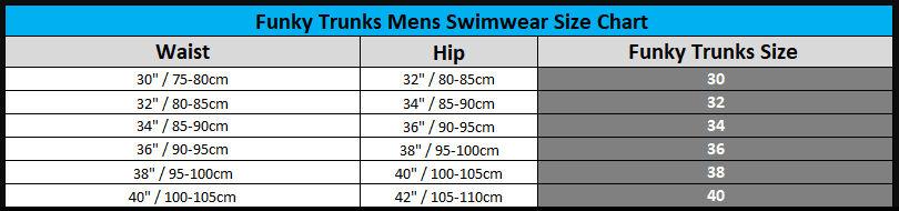 FUNKY TRUNKS Mens Swimwear