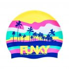 FUNKY Perfect Wave Silicone Swimming Cap