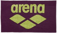 Arena Red Wine and Green Pool Towel