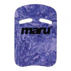 Maru Swirl Kickboard Dark Purple