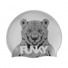 FUNKY Bear Bum Swimming Cap