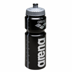 side front of bottle showing logo