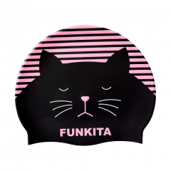 Funkita Crazy Cat Swimming Cap