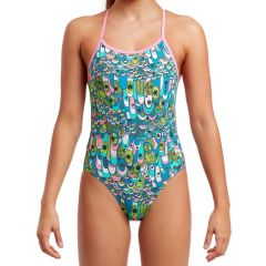 Funkita Feather Fairy - Girls Twisted One Piece