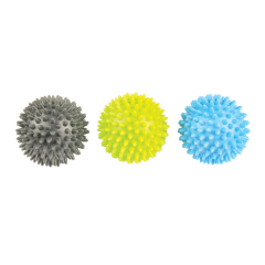 fitness-mad spikey ball trio