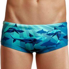 Funky Trunks Shark Bay - Boy's Sidewinder Trunks