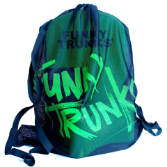 Funky Trunks Still Black Mesh Gear Bag