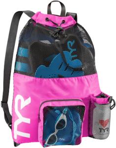 TYR Big Mesh Mummy Bag Pink