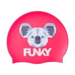 FUNKY Yeah Koala Silicone Swimming Cap