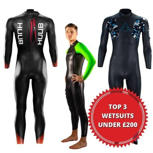 3 Best Wetsuits Under £200 for Swimming 2021